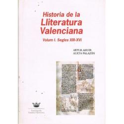 Historia de la Lliteratura Valenciana: Volum I. Segles XIII-XVI
