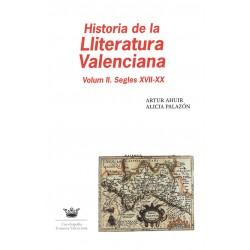 Historia de la Lliteratura Valenciana: Volum II. Segles XVII-XX