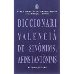 Diccionari valencià de sinònims, afins i antònims