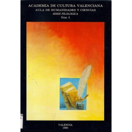Serie Filológica 5