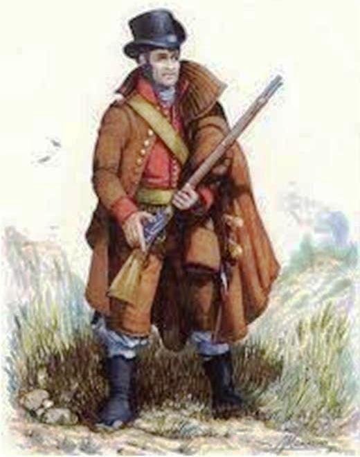 Fusilero de Castellón 1808