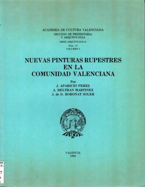 Serie Arqueológica 13 - vol. 1