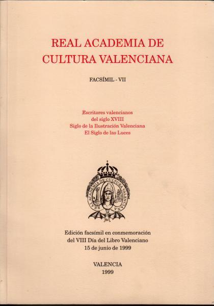 Escritores valencianos del siglo XVIII