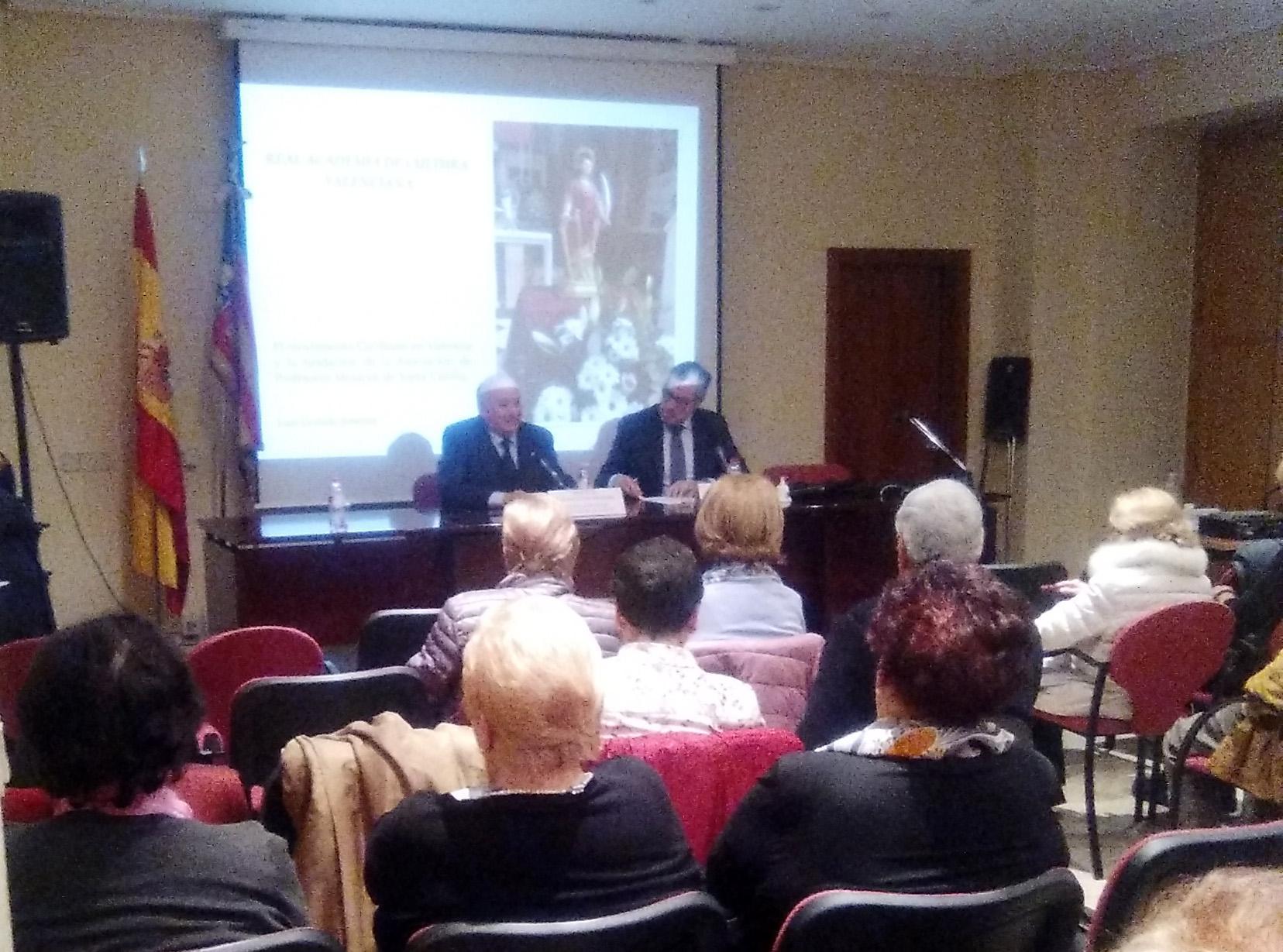 Luis Garrido Jiménez dissertà sobre el moviment cecilià