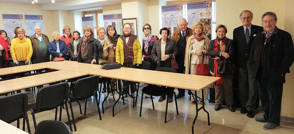 L'ESEV visita l'exposición de Sant Vicent Ferrer