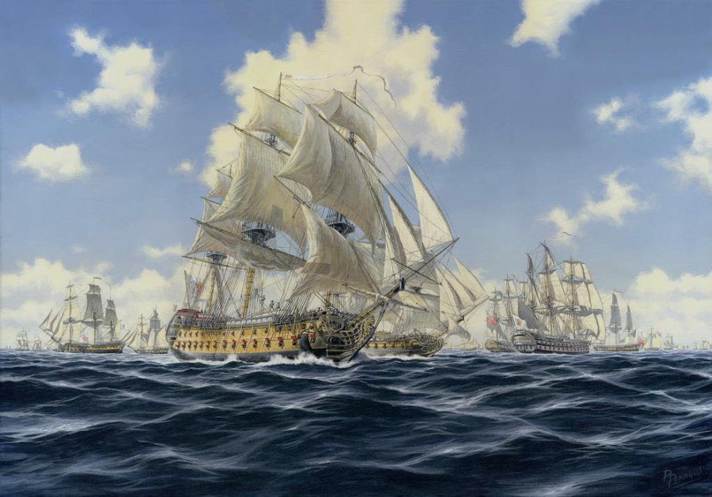 La Armada en la independencia de los EEUU