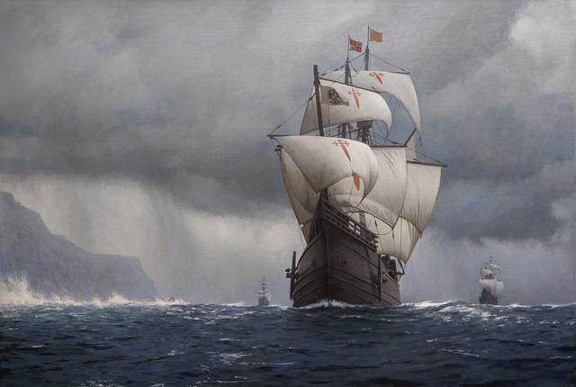 """Conferencia: """"Expediciones marítimas españolas al océano pacífico  Desde el virreinato de nueva españa"""