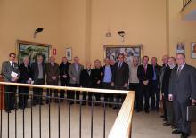 Foto de grup de la IV Jornada d'Acadèmics Corresponents (foto: Javier Marco Tatay)
