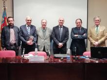 """Presentación del libro de José Bonet """"En defensa del Derecho Civil Valenciano""""."""
