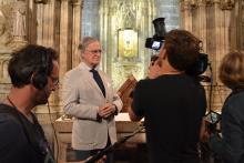 El Prof. José Francisco Ballester-Olmos Anguís particpa en un documental de ZDF