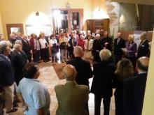 Benedicció exposició Sant Vicent Ferrer