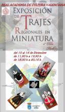 Exposició de trages regionals en miniatura