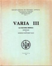 Serie Arqueológica 10 - Varia III